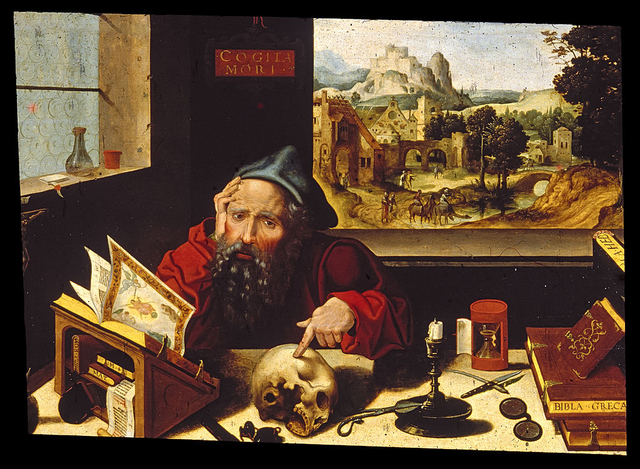 1024px Workshop of Pieter Coecke van Aelst the elder Saint Jerome in His Study Walters 37256